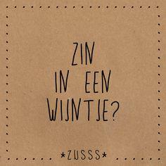 Zin in een wijntje?
