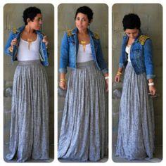 http://mimigoodwin.blogspot.com/2012/12/ootd-diy-maxi-skirt-denim-diy-studded.html?m=1