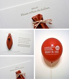 What a cool and unique idea for an invite!