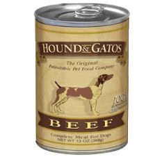 Hound And Gatos Canned Dog Food