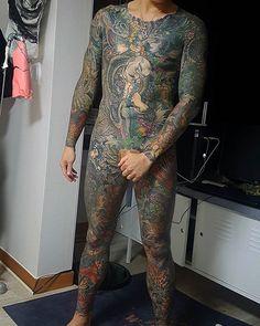 오늘 #전신문신 #호리쿠니 #이레즈미 #타투 #문신 #강남타투 #용문신 #fullbody #horikuni #irezumi #wabori #japanesetattoo #tattoo #horimono #seoultattoo #gangnamtattoo #dragontattoo