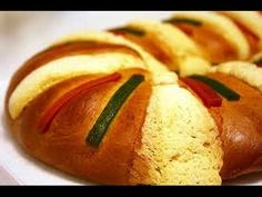 rosca de reyes, receta #2, como hacer rosca de reyes, roscon - YouTube