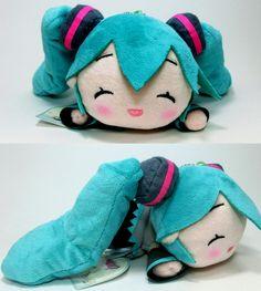 Vocaloid: Nesoberi Plush - Hatsune Miku Happy Ver