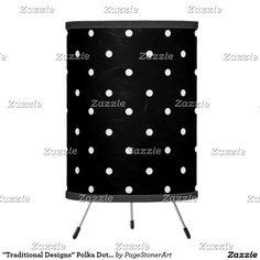 """Traditional Designs"" Polka Dot II / Black/http://www.zazzle.com/PageStonerArt?rf=238419329933931640"