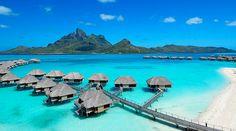 Bora Bora - http://www.portobello.com.br/blog/viagem/10-hoteis-mais-luxuosos-do-mundo/