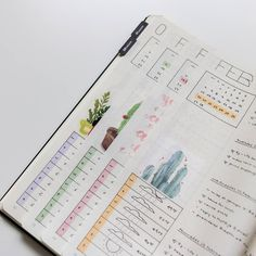 I can't believe February 2017 is already over! I really liked how all my spreads this month came together. The color thing is still a little foreign feeling to me, but I like what it adds to my journal. It makes my bujo a welcoming place to come to each day. How do you feel about color in your bullet journal? Are you an 'add all the colors' type or more of a 'color ruins the minimalism' type? (i'm stuck somewhere in between!)