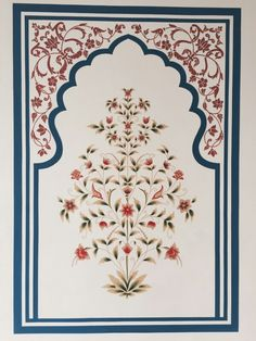 Bhitti Chitra Kala or hand made traditional wall painting covering the hotel walls and reflecting the traditional art of Rajasthan. Pichwai Paintings, Mughal Paintings, Indian Paintings, Traditional Wall Paint, Traditional Paintings, Traditional Art, Islamic Art Pattern, Pattern Art, Interiores Art Deco