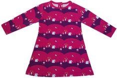 Materialien: * Baumwolljersey Vicente (Häschen pink-lila) (Breite 150cm) ( Kleid )  30cm ( Größe 56 )  40cm ( Größe 62 -...