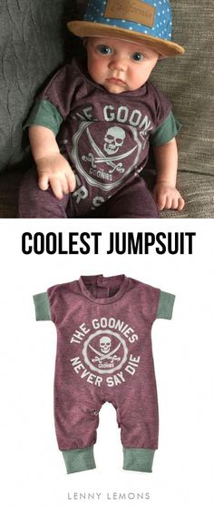 e8c73bb75dc The perfect cool jumpsuit! Goonies never say die  ) Trendy color and prints!