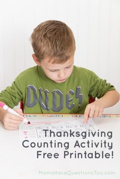 Awesome website with preschool activities that are simple!