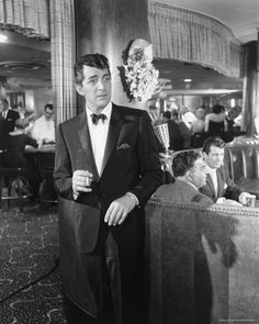 "For his charisma and touch of mystery, Dean Martin earned the title of the ""King of Cool."" His suave mannerisms are legendary in nightclubs and along the Las Vegas strip. #throwbackthursday"