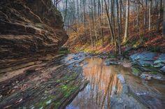 Rock Overhang at Mullberry Creek Near Hyde Farm