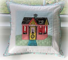 Cozy Cottage Pillow by Charise *, via Flickr