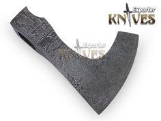ножи экспортером заказ ручной работы Дамаск стали бородатый топорик / топор голова