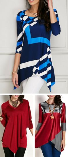 Cute tops for women at Rosewe.com.