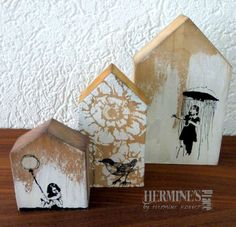 Wooden houses by Hermine Koster                                                                                                                                                                                 More