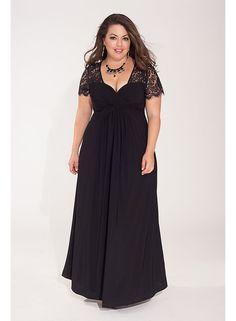 Monica Maxi Dress www.ladyplusfashion.com