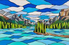 Mixed Media Artwork, Acrylic Canvas, Canvas Board, Pyrography, Jasper, Spirit, Island, Artist, Painting