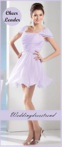 http://www.weddingdresstrend.com/en/delicate-empire-waist-short-mini-length-bridesmaid-dress.html