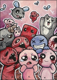 Binding of Isaac fan art by Lumary92