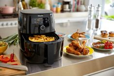 Air Fryer Recipes Chips, Air Fryer Recipes Low Carb, Healthy Dishes, Healthy Cooking, Healthy Foods, Cooking Recipes, Philips Air Fryer, Grilled Roast, Health Foods