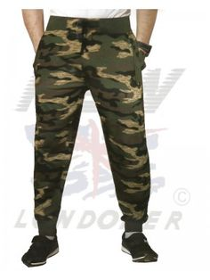 Joggers Army Print for Men