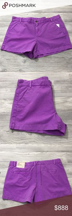 """Gap Sunkissed Khakis Shorts NWT C1 Sits below the waist. Easy through the hip and thigh: 9""""inseam. 100% cotton. Gap  Sunkissed Khakis Shorts NWT GAP Shorts"""
