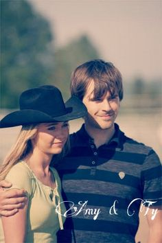 Heartland ♥ I so wish Amber and Graham would have got married they are so cute together!