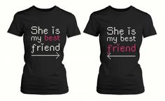 Matching Friendship Shirts for BFF | National Best Friend Day: 8 gift ideas for your best friend
