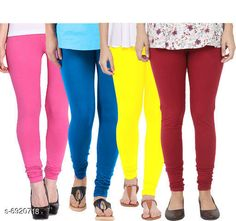 Leggings & Tights  Fancy Fashionista Women Leggings  Fabric: 100% Pure Cotton Lycra Pattern: Solid Multipack: 4 Sizes:  30 (Waist Size: 30 in Length Size: 40 in)  32 (Waist Size: 34 in Length Size: 40 in)  34 (Waist Size: 34 in Length Size: 40 in)  36 (Waist Size: 36 in Length Size: 40 in)  38 (Waist Size: 38 in Length Size: 40 in) Country of Origin: India Sizes Available: Free Size, 28, 30, 32, 34, 36, 38, 40   Catalog Rating: ★3.9 (508)  Catalog Name: Fancy Fashionista Women Leggings CatalogID_1104989 C79-SC1035 Code: 964-6920718-7911