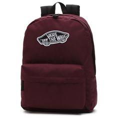 Shop Realm Backpack today at Vans. The official Vans online store. Brown Backpacks, Cute Backpacks, School Backpacks, Teen Backpacks, Leather Backpacks, Leather Bags, Vans School Bags, Vans Bags, Backpack For Teens