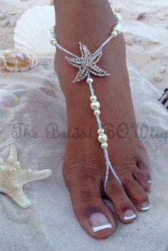 Barefoot beach wedding dresses