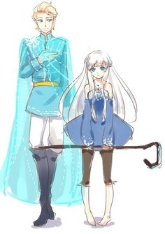 Gender bender jelsa! So cute!