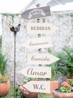 indicaciones boda