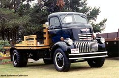 Pinned by http://FlanaganMotors.com.  1946 Chevy 1 1/2 Ton COE