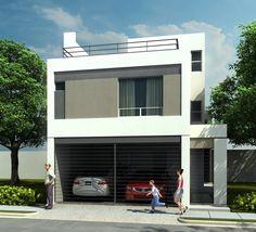 Casas en Venta y Departamentos: Casa Muestra Modelo 211scl Cerradas de Anahuac Contemporáneo