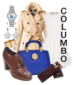 """Columbo"" by laniocracy ❤ liked on Polyvore featuring Game Time, Burberry, Dasein, LUMO and Tommy Hilfiger"