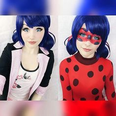 Cosplayer: @ri.care Miraculos Ladybug Character: Marinette - Ladybug… Super Hero shirts, Gadgets