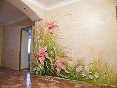 Gyönyörű falfestés - MindenegybenBlog
