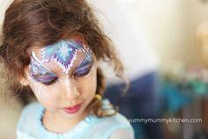 Gorgeous Elsa Face Paint Frozen Party