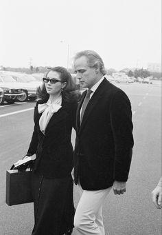 Marlon Brando and Anna Kashfi