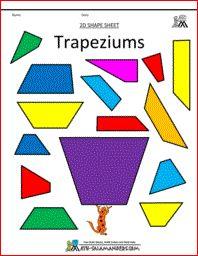 Trapeziums printables