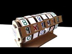 Como Hacer Maquina de Aprendizaje de Cartón Matemáticas para Niños - YouTube Math Activities For Kids, Math For Kids, Science For Kids, Math Crafts, Math Projects, Teaching Multiplication, Maths, Busy Boards For Toddlers, Math Books