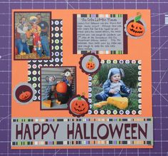 halloween scrapbook layouts - Yahoo Search Results