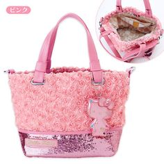HELLO KITTY LIMITED • Hello Kitty rose handbags
