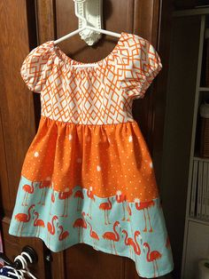 Little dresses for Africa. Featuring Lulu Magnolia fabric designed by The Quilted Fish for Riley Blake Designs #thequiltedfish #rileyblakedesigns #dressesforafrica #lulumagnolia