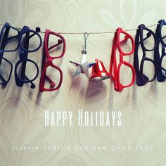 Happy holidays from Kokosom crew! Happy Holidays, Eyewear, Instagram Posts, Jewelry, Happy Holi, Glasses, Jewels, Schmuck, Jewerly