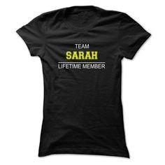 (Tshirt Discount) Team SARAH Lifetime member [Teeshirt 2016] Hoodies, Tee Shirts