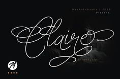 Introducing Claire Handwritten Script Font! This is a modern and elegant typeface designed by Mas Anis. It includes beginning and ending swashes, alternate swash characters for most lowercase letters, numbers, punctuation, alternates, ligatures. You can use this font for various projects such as branding, logos, advertising, quotes, t-shirt, invitations and a lot more. Check it out and enjoy!
