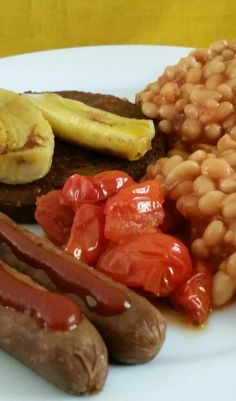 Friday's pre-workout vegan fry-up 😊